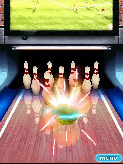 Screenshots of the Lets Go Bowling for java mobile, phone.