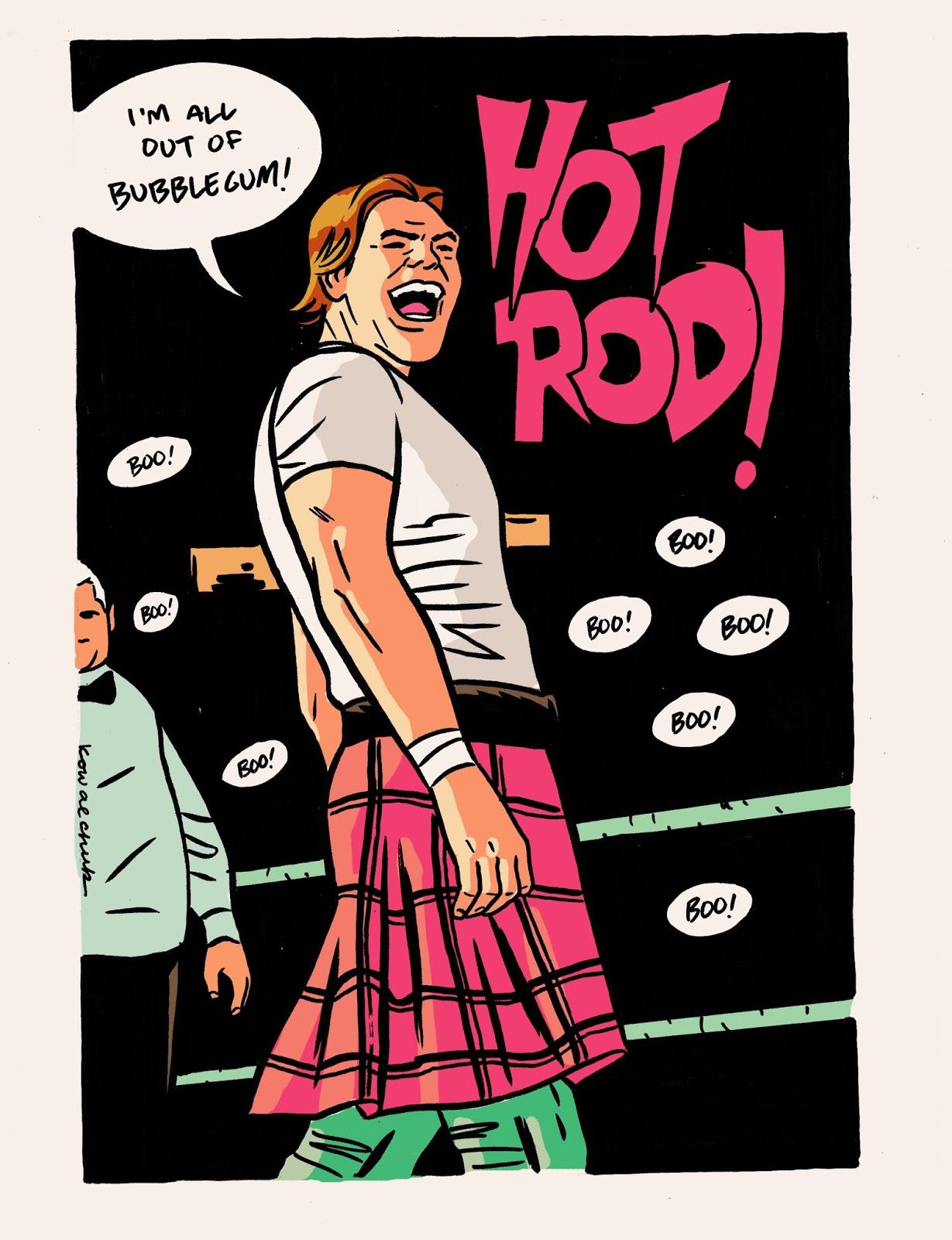 Roddy piper hot rod logo