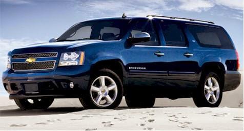 Chevrolet Suburban terbaru