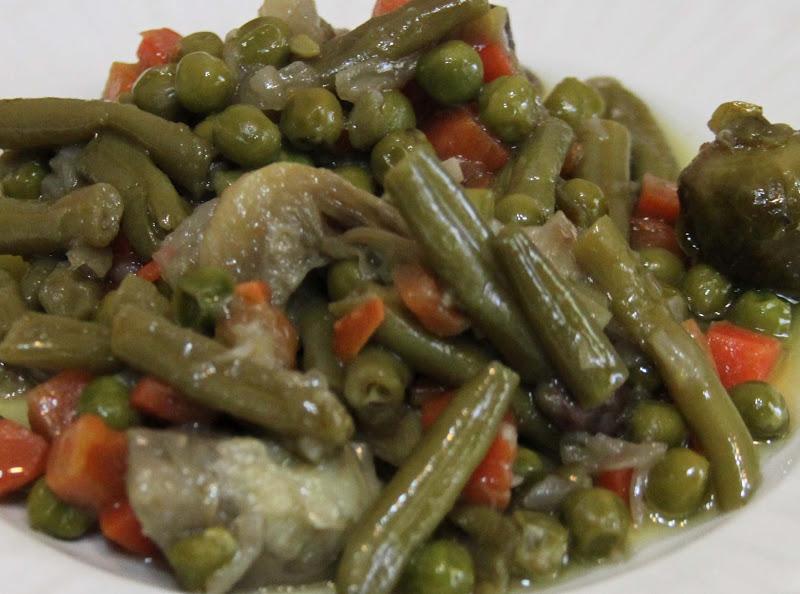 A comer y a callar menestra de verduras - Como preparar menestra de verduras ...