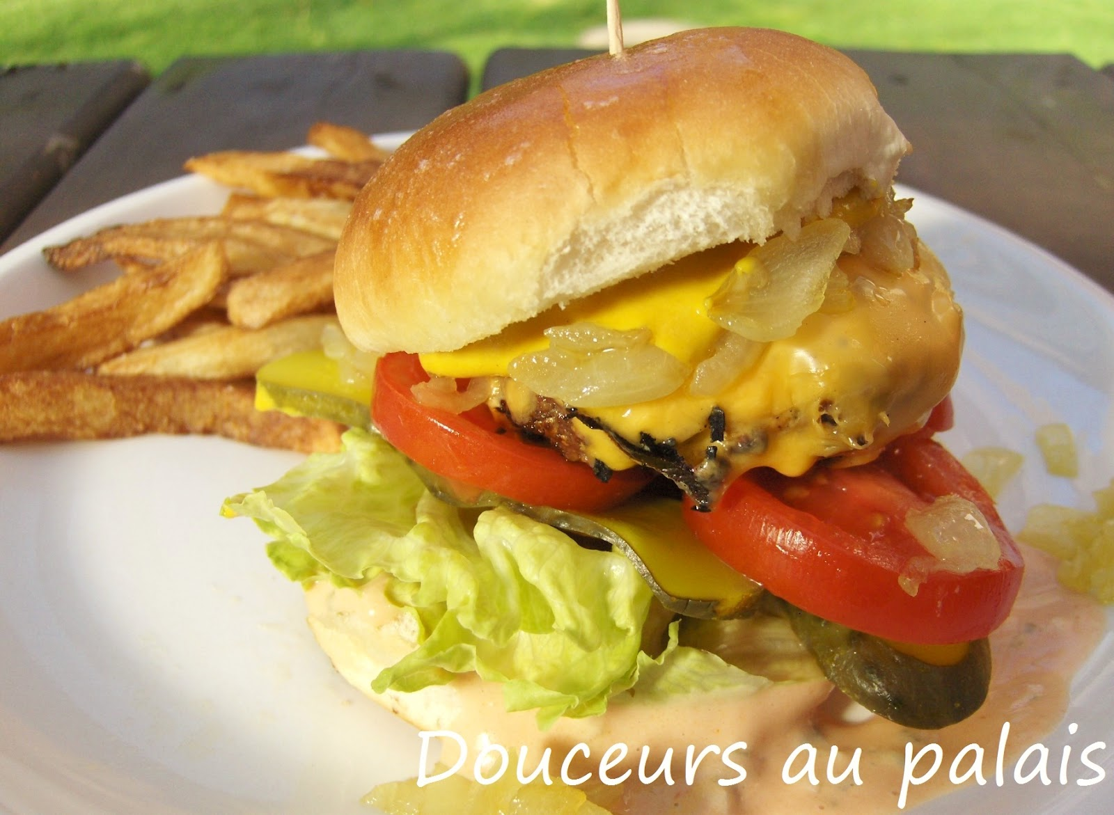 Cheeseburgers Animal Style - Recette