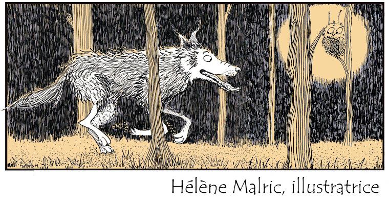 Hélène Malric, illustratrice...