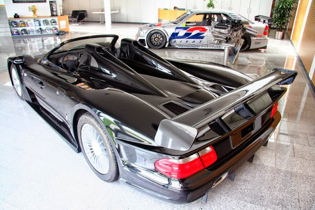 mercedes r297 clk gtr roadster