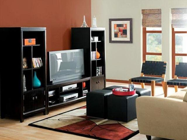 How to select wall paint colors for living room Brown wall color living room