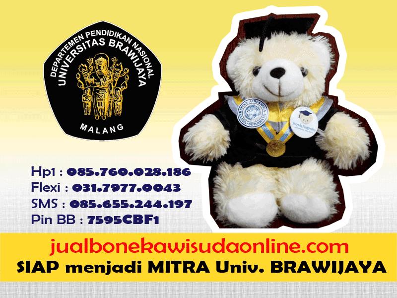 Boneka Wisuda UNBRAW | Jual Boneka Wisuda Universitas Brawijaya