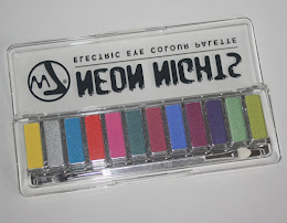 .W7 Neon Nights Electric Eye Colour paletta