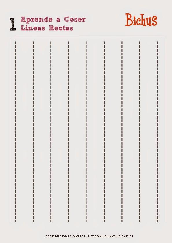 Bichus Amigurumis: Plantillas para aprender a coser a maquina