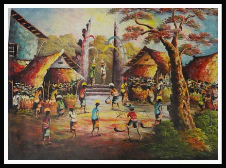 sarii: Lukisan Modern