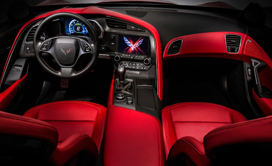 2014 Corvette Stingray C7 Comfortable, Light weight, Perfect Interior