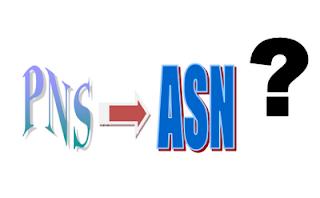 perubahan PNS ke ASN
