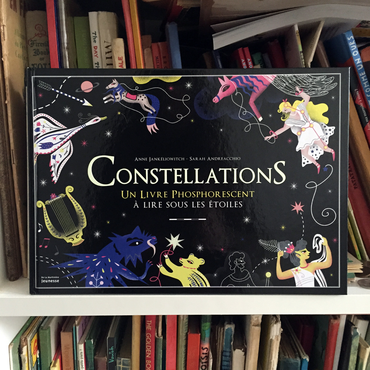 Happy mitou illustration blog my new book constellations aux editions de la - La martiniere jeunesse ...