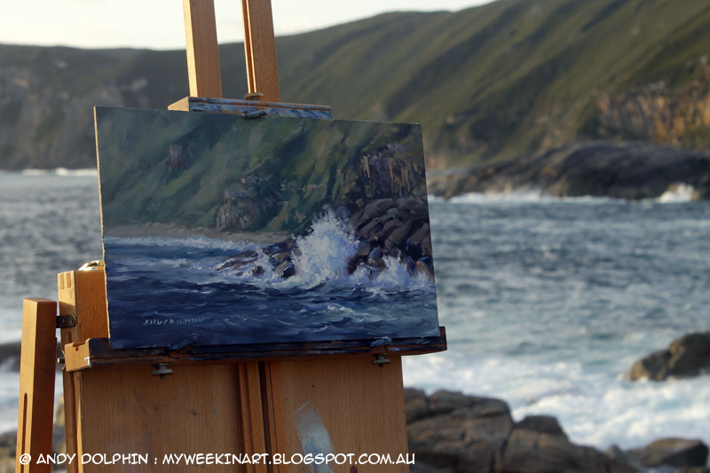 How To Paint Granite Cliffs In Oils