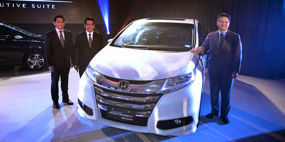 Mobil Honda Resmi Merilis Honda Odyssey 2015