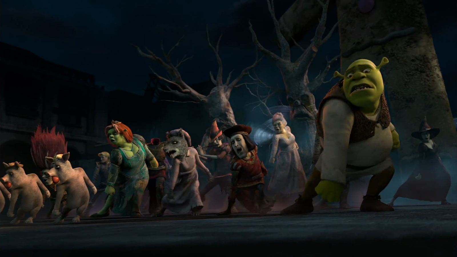 Cached Pictures of shrek 2 characters