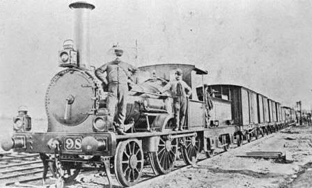 history rare pics gallery, first railway