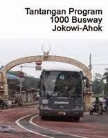 Tantangan Program 1000 Busway Jokowi-Ahok