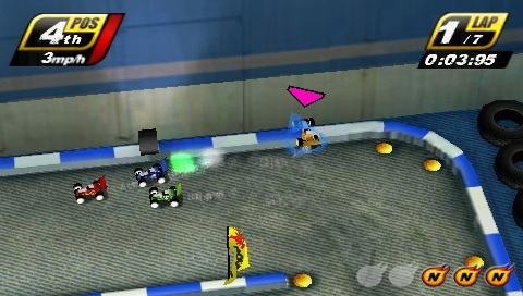 Free Download Touch Racing Nitro Psp Game Photo