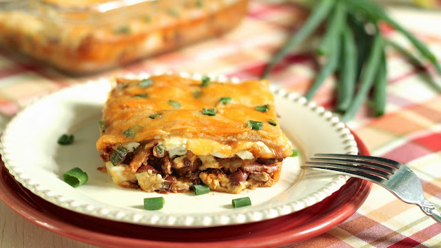 Chili Nation: Cheesy Chili Squares