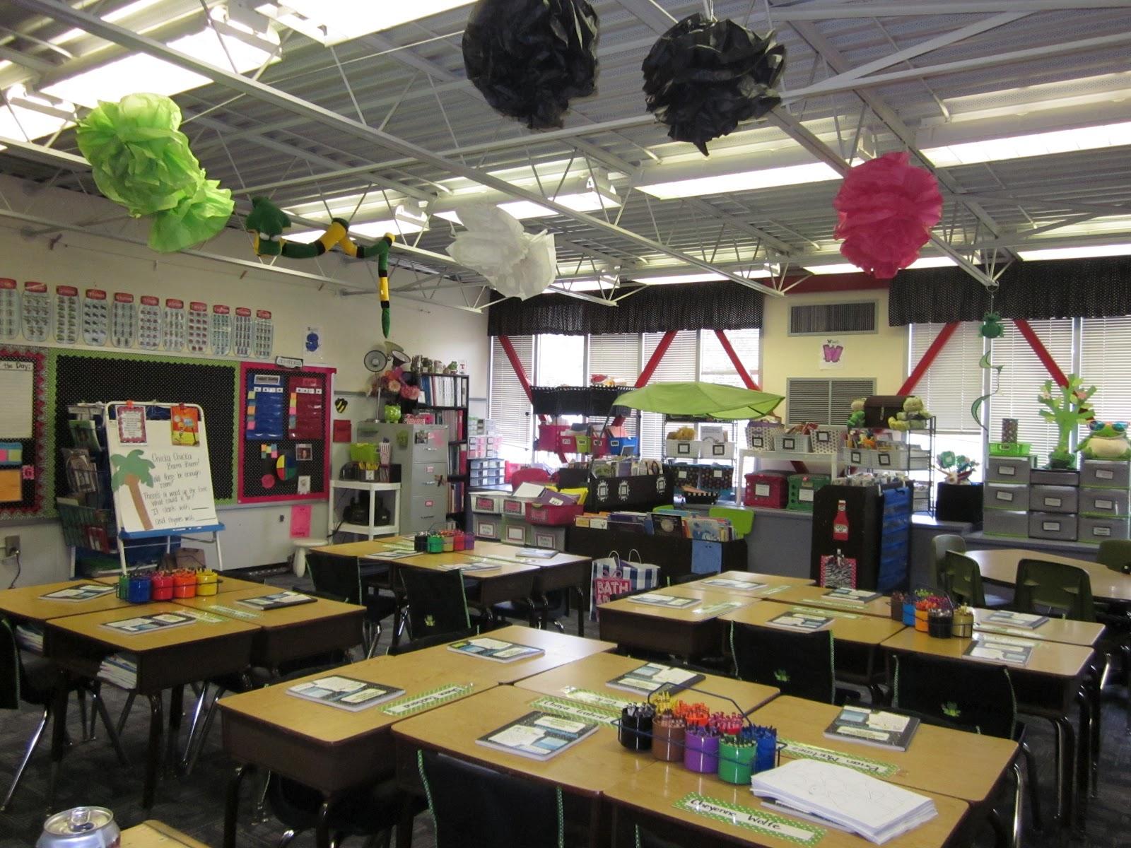 Classroom Decor Chevron ~ First grade fairytales classroom decor linky chevron a