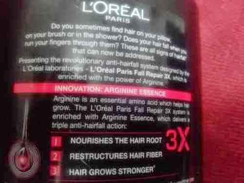 L'oreal Paris Fall Repair 3x Anti-Hair Fall Shampoo Review
