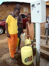 Pre paid water meters in Kampala's urban poor settlement