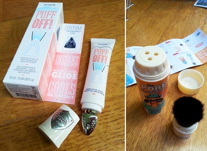 Shopping Beauty da Sephora Benefit, Puff Off Benefit, Porefessional Benefit