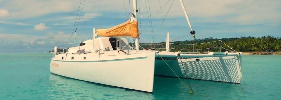 s/v LightSpeed Chris White Atlantic 42 Catamaran