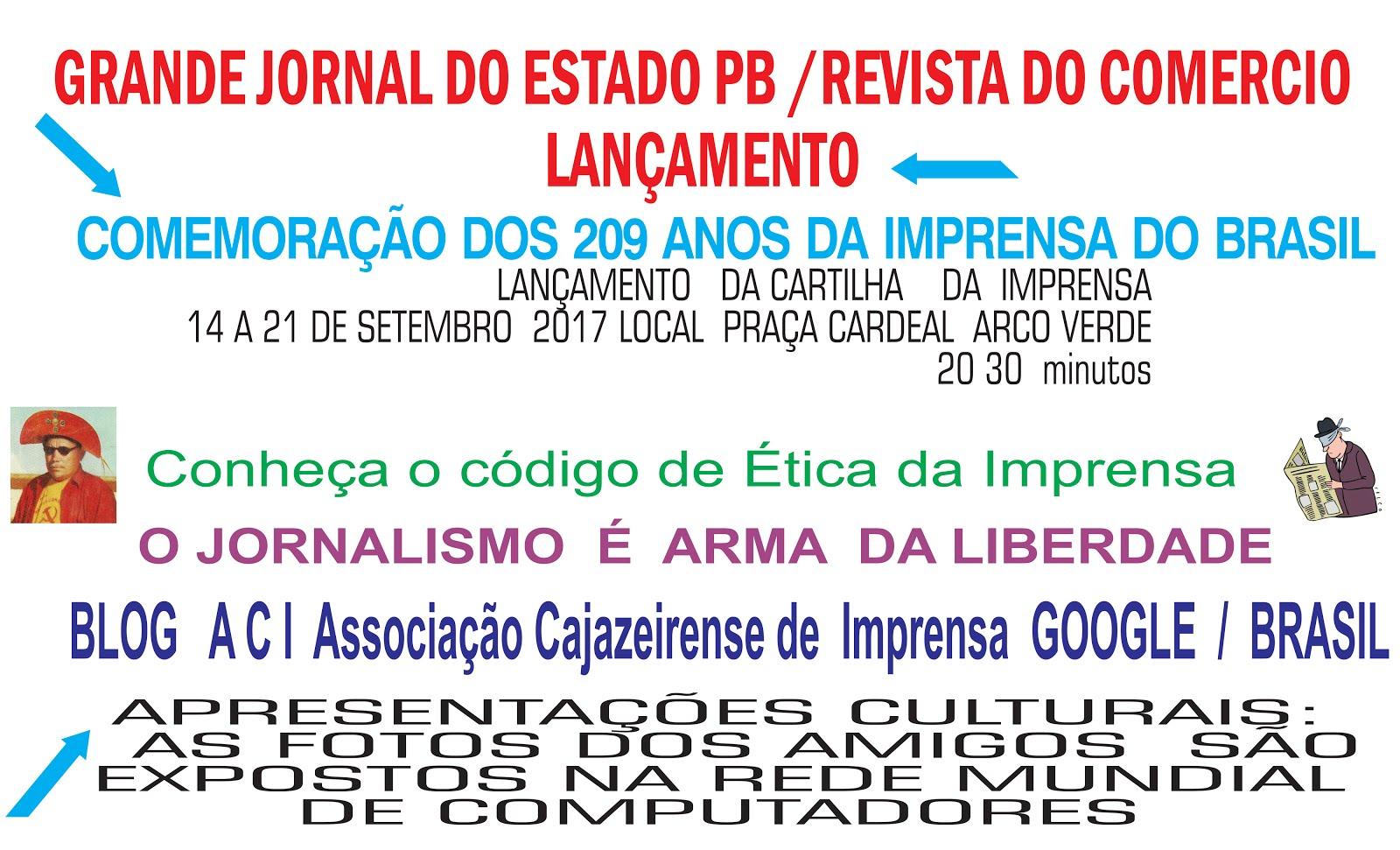 blog; NOVA A C I    ASSOCIAÇÃO CAJAZEIRENSE  DE  IMPRENSA  CAJAZEIRAS PB  BREVE  NOVA DIRETORIA