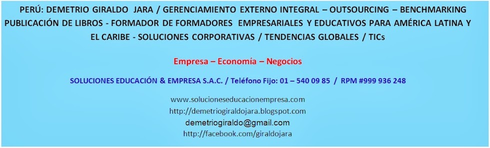 DEMETRIO GIRALDO JARA: LIBROS, CONFERENCIAS, SOLUCIONES CORPORATIVAS GLOBALES