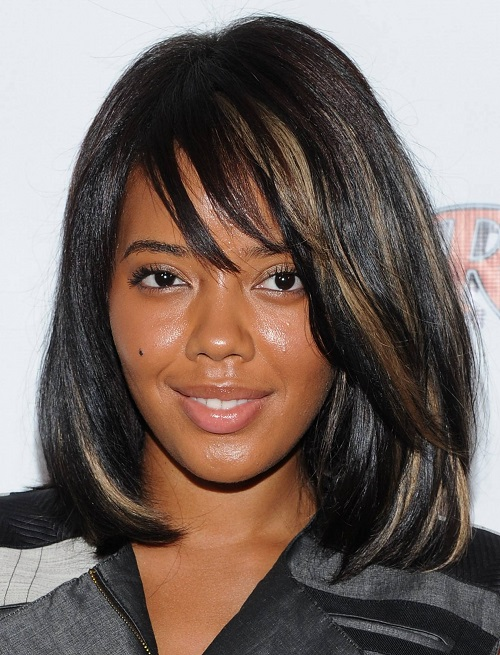 Medium Length Layered Hairstyles for Black Women