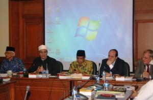 Rombonga Grand Syekh Universitas Al-Azhar Lawatan ke PBNU
