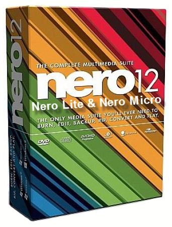 Nero Lite 12 Serial