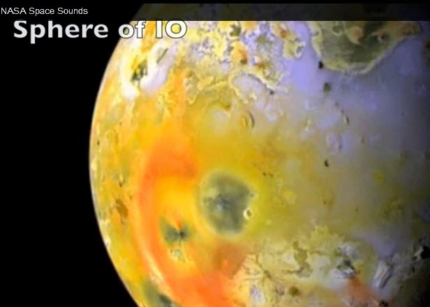 The sounds of Io