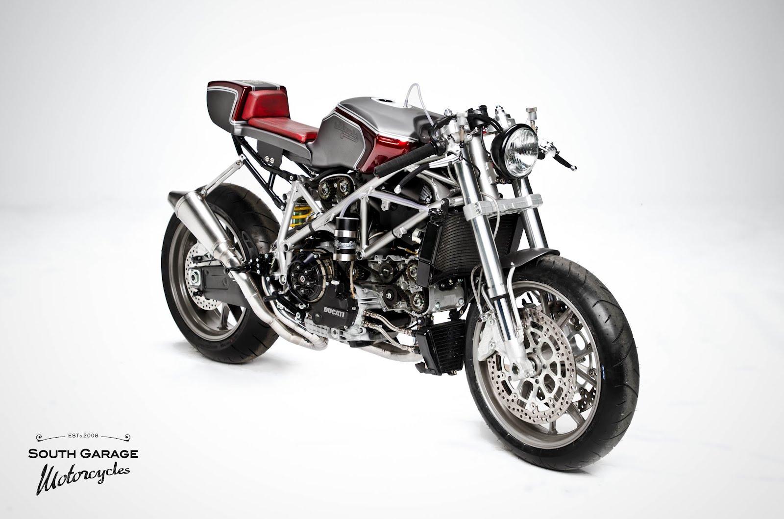 Ducati 749 Cafe Racer Custom By South Garage