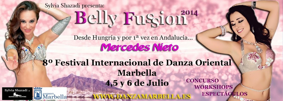 Marbella Danza del Vientre                        Festival Belly Fussion