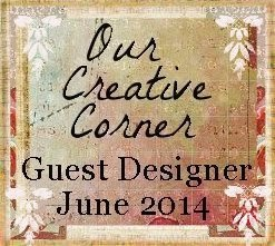 Surprise GUESTDESIGNER at Our Creative Corner