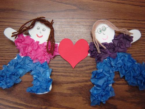 Manualidades Para La Escuela Dominical Dia Del Amor Y La Amistad
