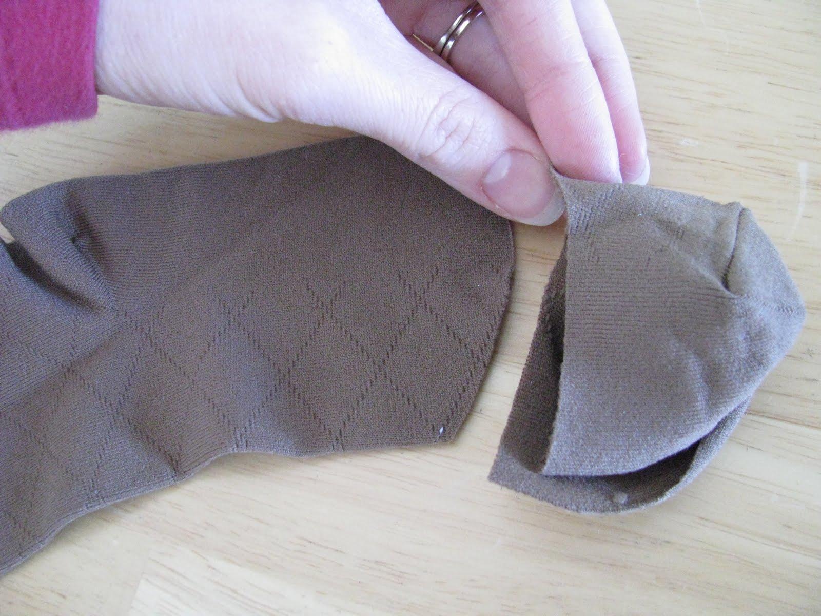 Как самому сделать носки 107