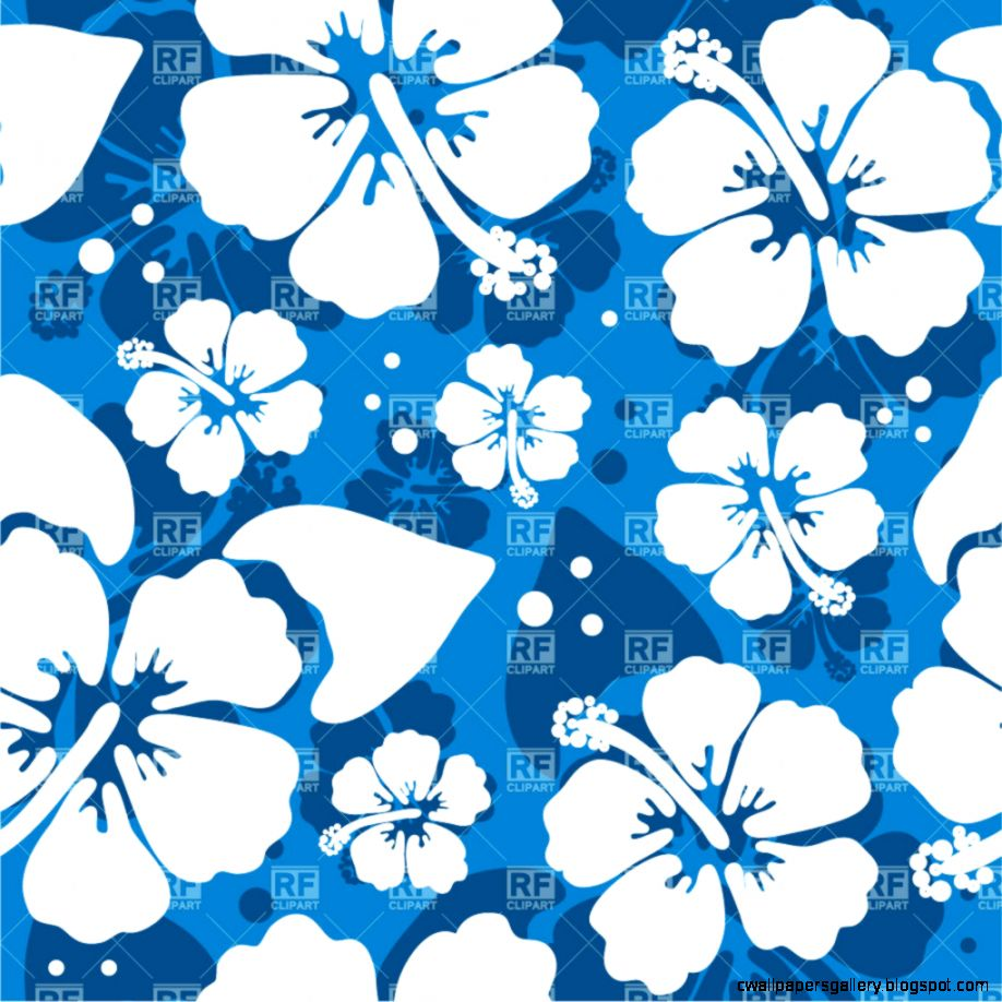 Blue Hibiscus Clipart   Clipart Kid