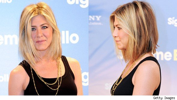 jennifer aniston hair bob 2011. Check out Jennifer Aniston new