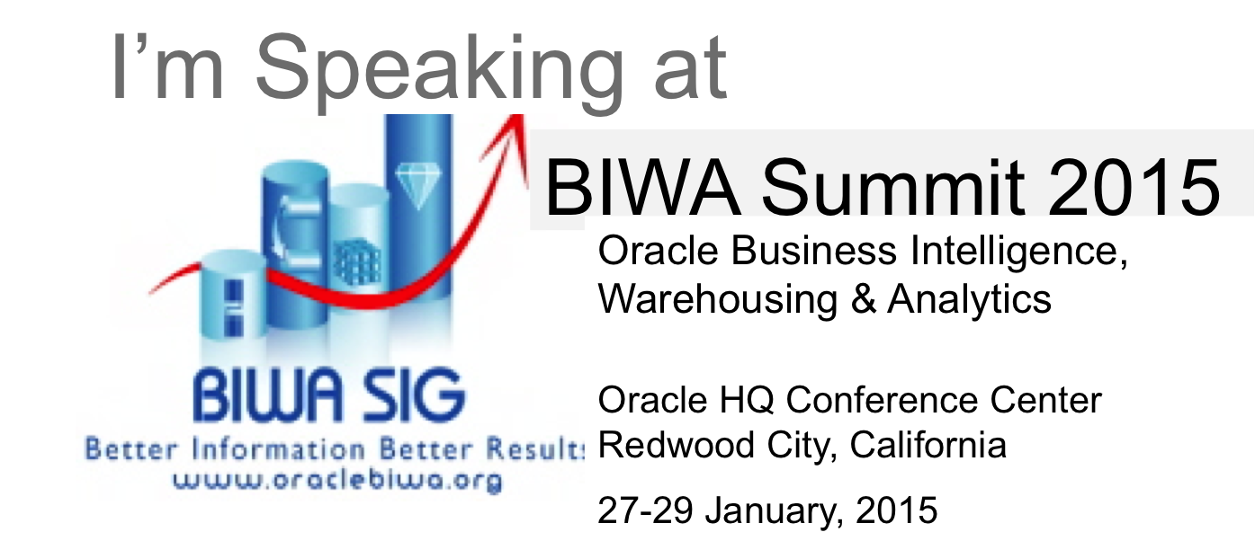 BIWA Summit 2015