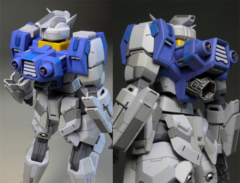 HG 1/144 Gundam AGE-1 Spallow [RG Style] - Customized Build