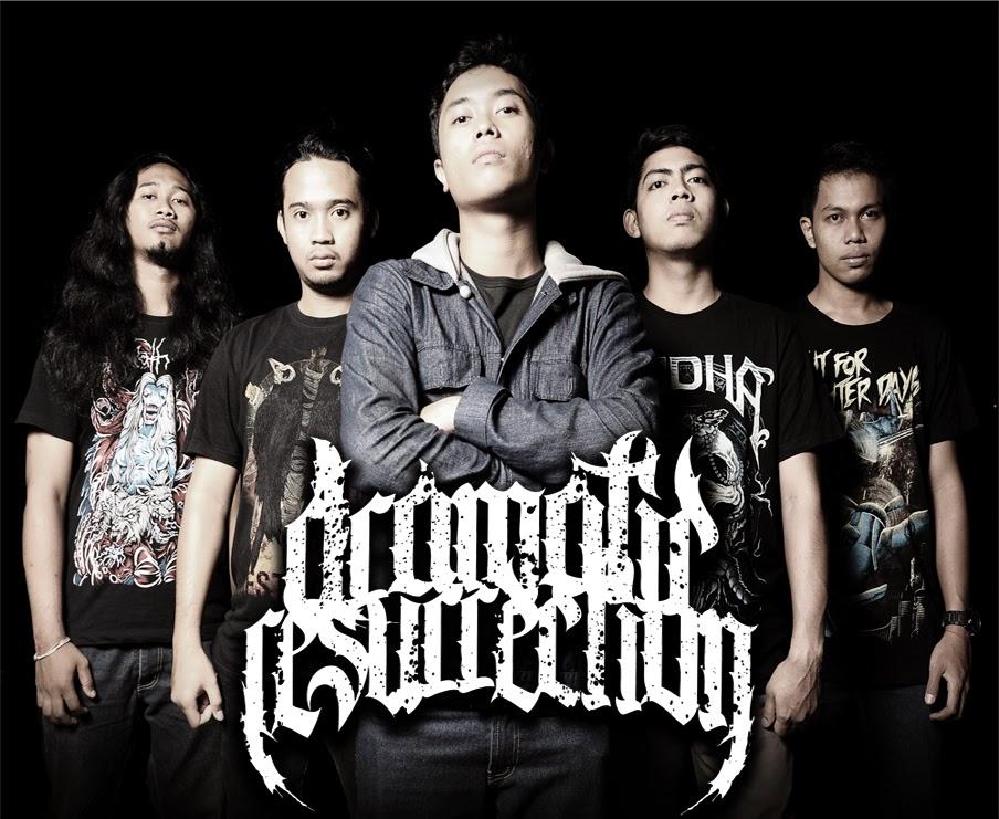 Dramatic Resurrection Band Metalcore Tabanan - Bali Foto Personil logo wallpaper