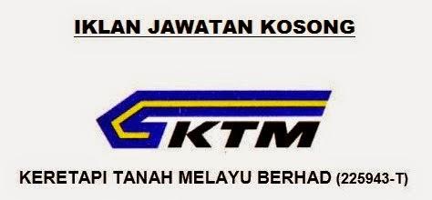 Jawatan Kerja Kosong Keretapi Tanah Melayu Berhad (KTMB) logo www.ohjob.info disember 2014