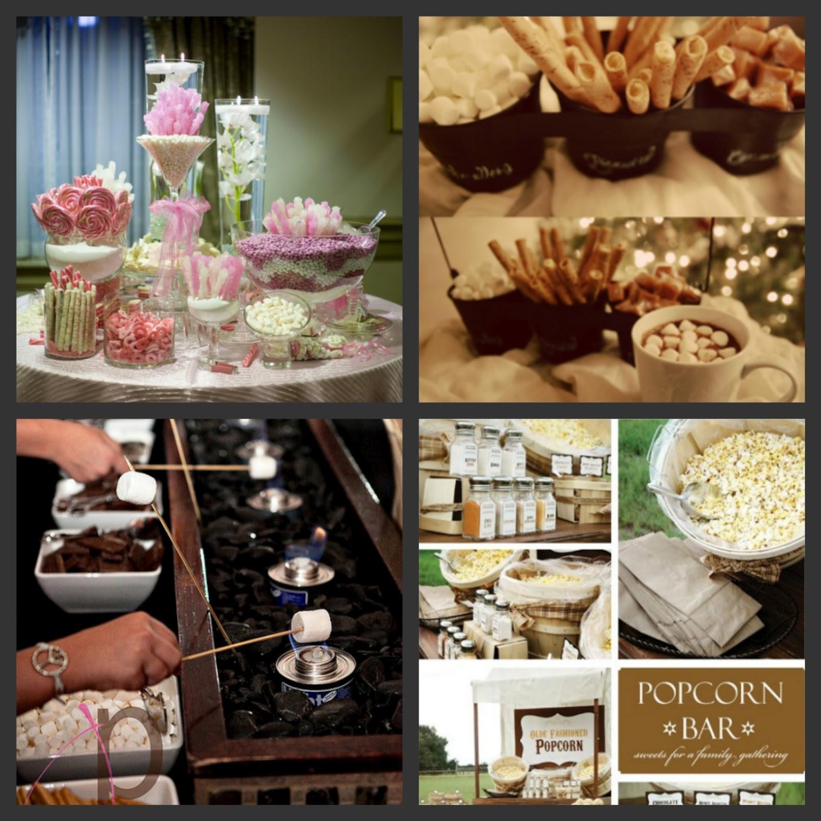 Weddings are fun blog wedding trend food bars and buffets for Food bars for weddings