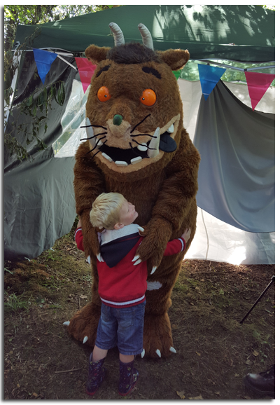 so there is such a thing as the Gruffalo!