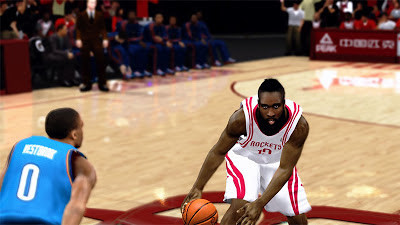 NBA 2K13 James Harden Fear the Beard Patch