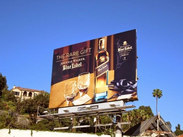 Johnnie Walker Blue Label rare gift billboard