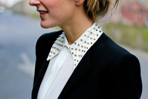 Zara studded shirt