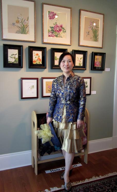 Hsiu Norcott, Chinese artist